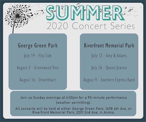 Concerts Schedule